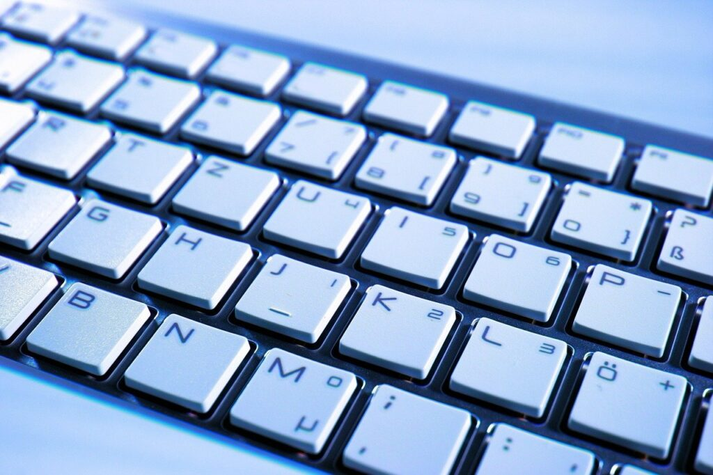 keyboard, hardware, computer